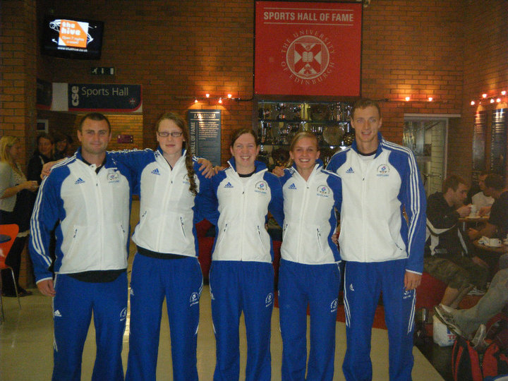 L-R: Chris Jones, Kathryn Johnstone, Kerry Buchan, Louise Pate, Kris Gilchrist